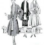 Womens Fashion, 1926 Art Print