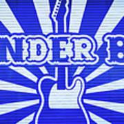 Wonder Bar - Sign Art Print