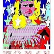 Wonder Woman Art Print by Ricky Sencion