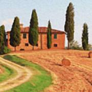 Wonderful Tuscany, Italy - 02 Art Print
