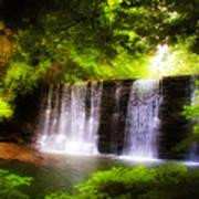 Wondrous Waterfall Art Print