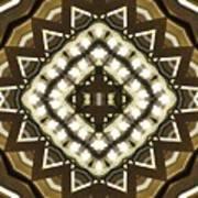 Wood And Light Shield Art Print