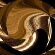 Wood Grains Art Print