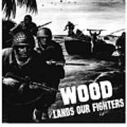 Wood Lands Our Fighters Art Print