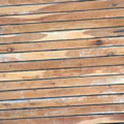 Wood Lines Art Print
