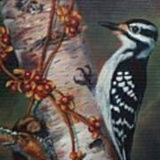 Wood Pecker Art Print