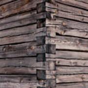 Wood Walls Art Print