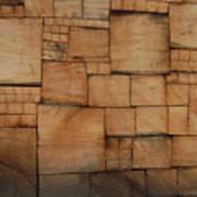 Woodblocks Art Print