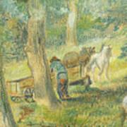 Woodcutters Art Print