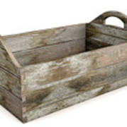 Wooden Carry Crate Art Print