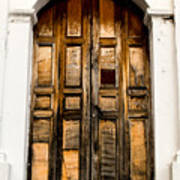 Wooden Door 1 Art Print