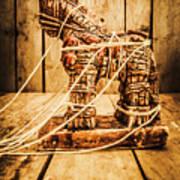 Wooden Trojan Horse Art Print