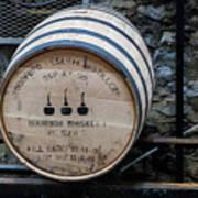 Woodford Reserve Barrel Art Print