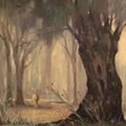 Woodland Fawn Art Print