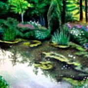 Woodland Mystery Art Print