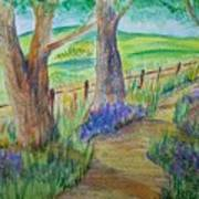 Woods Edge Art Print