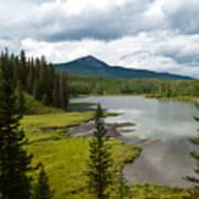 Wood's Lake Summer Landscape Art Print