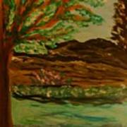 Woods Art Print by Marie Bulger