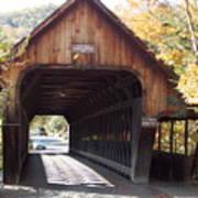 Woodstock Middle Bridge Art Print