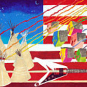 Woodstock Nation Art Print
