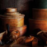 Woodworker - Shaker Box Shop  Art Print