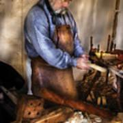 Woodworker - The Carpenter Art Print