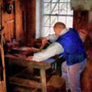 Woodworker - The Master Carpenter Art Print