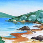 Woolleys Bay New Zealand Northland Art Print