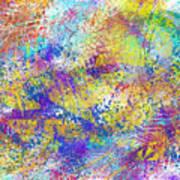 Work 00101 Abstraction Art Print