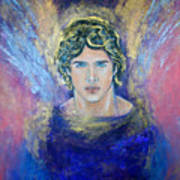 Working With Archangels Art Print