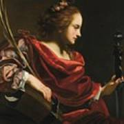 Workshop Of Simon Vouet Art Print