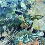 World In The Sea Art Print