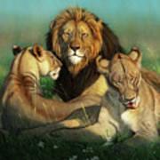 World Lion Day Art Print