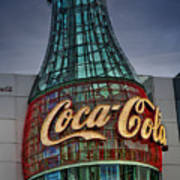 World Of Coca Cola Art Print
