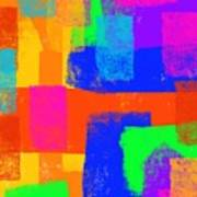 World Of Color Art Print