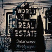 World Real Estate Chicago Art Print
