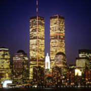World Trade Center Art Print by Gerard Fritz