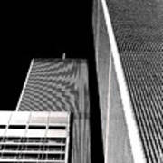 World Trade Center Pillars Art Print
