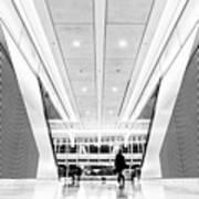 World Trade Center Transportation Hub, Lower Manhattan New York Art Print