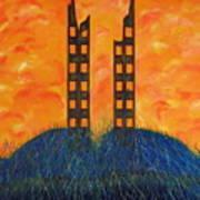 World Trade Towers  Art Print