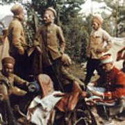 World War I: French Troops Art Print