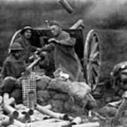 World War I: U.s. Artillery Art Print