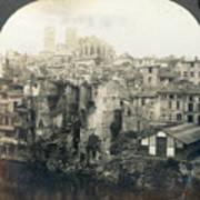 World War I: Verdun Ruins Art Print