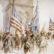 World War I: Victory Parade Art Print