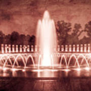 World War II Memorial IIib Art Print