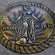 World War II Monument Art Print