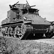 World War II Us Army Tank by H  Armstrong Roberts/ClassicStock