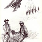 World War One Sketch No. 2 Art Print