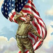 World War One Soldier Art Print