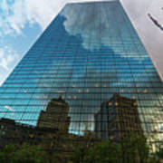 World's Largest Canvas John Hancock Tower Boston Ma Art Print
